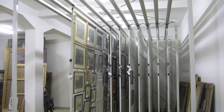 Музейни стелажи София